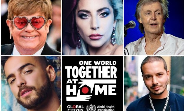 Virtual concert headlines international stars