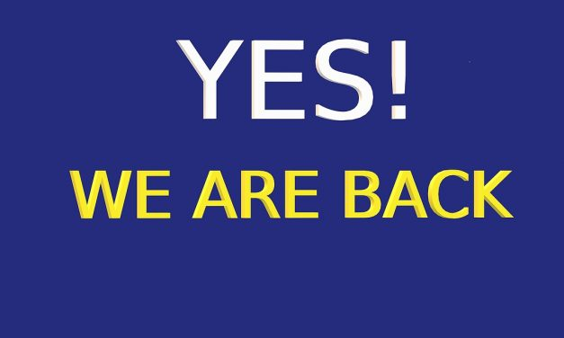 Yes! WE ARE BACK!